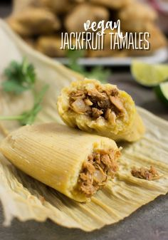 Jackfruit Vegan Tamales (with Instant-Pot Instructions) Homemade jackfruit vegan tamales are easier to make than you may think! This step-by-step recipe will guide you through the tamale making process with ease. So you'll be enjoying flavorful ve.