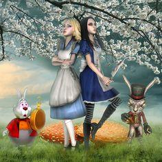 Alice In Wonderland Mirrors . Alice In Wonderland Mirrors . Alice In Wonderland Tea Party Birthday Lewis Carroll, Alice Liddell, Inspiration Artistique, Go Ask Alice, Chesire Cat, Dibujos Cute, Were All Mad Here, Adventures In Wonderland, Wonderland Alice