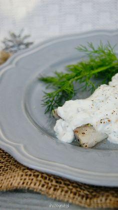 Wigilijna kolacja, świąteczne śniadanie! 🎄 Śledzie w sosie koperkowym