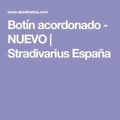 Botín acordonado - NUEVO | Stradivarius España