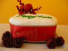 Gluten Free Christmas Cake - Living a Real Life Butter Dish, Gluten Free Recipes, Free Food, Baking, Fruit, Cake, Desserts, Christmas, Bread Making