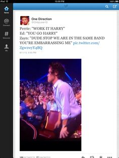 harry learned his lesson twerking on national television. i guess miley will learn now. and i think harry doesnt feel so bad now.