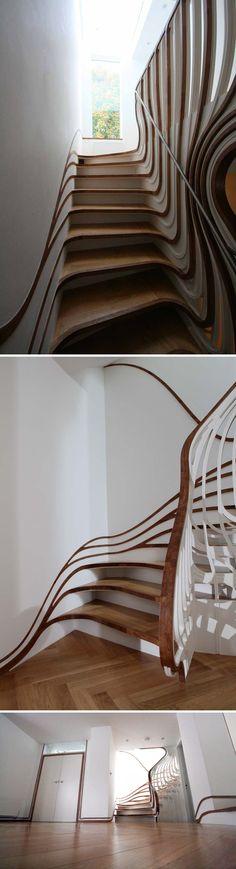 Amazing Interior Design Unique Staircase Designs » Amazing Interior Design
