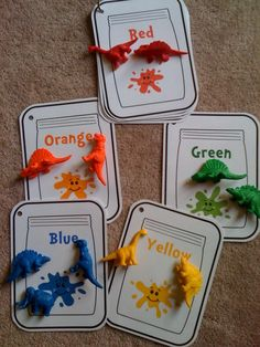 Preschool Printables: Free Color Jar Mats.  Could color match bugs.