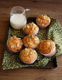 muffins de banana e amendoim