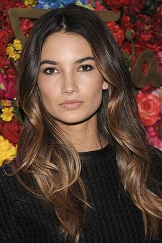 Fall Hair Color Trends 2013 | hbz-hair-color-trends-Lily-Aldridge-lgn