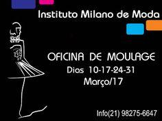 Instituto Milano de Moda                        : Oficina de Moulage Define-se como uma técnica de ...
