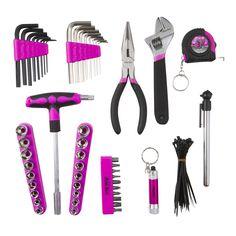 The Original Pink Box Purple Timberland Boots, Steel Pegboard, Tool Shop, Car Tools, Habitat For Humanity, Circular Saw, Tools And Equipment, Power Tools, Tool Kit