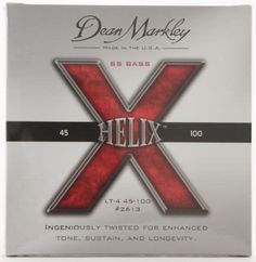 Dean Markley 2613 Helix HD Bass Light Strings by Dean Markley. $22.29. Helix HD Bass Light Strings