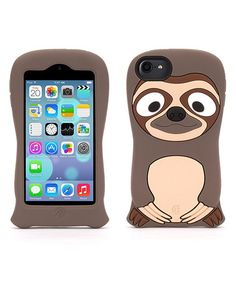 Another great find on #zulily! Brown Sloth Case for iPod Touch 5 by Griffin #zulilyfinds