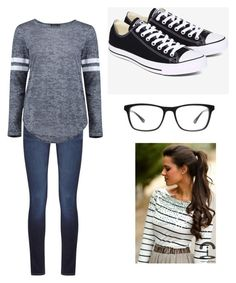 Untitled #15 by ashlynn26 on Polyvore featuring polyvore, fashion, style, Boohoo, DL1961 Premium Denim, Converse, Joseph Marc and clothing