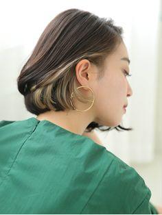 【2018年春】大人カジュアルモード★とろみインナーカラー/HELME【エルメ】なんばマルイのヘアスタイル BIGLOBEヘアスタイル Dip Dye Hair, Dyed Hair, Short Hair Cuts, Short Hair Styles, Hair Color Streaks, Graduation Hairstyles, My Hairstyle, Hair Remedies, Hair 2018