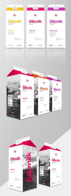 Silkmilk Milk Packaging