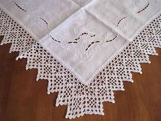 crochet edging - Google Search