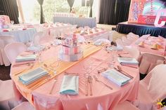 Chelsea's Sweet Shoppe Themed Party – Table Setup Party Themes, Chelsea, Candy, Table Decorations, Birthday, Sweet, Home Decor, Birthdays, Decoration Home