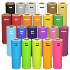 heat transfer vinyl for any vinyl cutter iron on t shirt 19 - Cricut Vinyl Colors