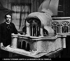 rudolf steiner maqueta de su templo
