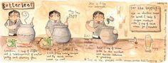 harry potter recipe - butterbeer