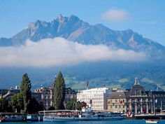Lucerne Switzerland Summer I can only imagine seeing this beautiful country one…
