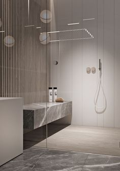 Bathroom Ideas Apartment Design is unconditionally important for your home. Whether you choose the Luxury Bathroom Master Baths Photo Galleries or Small Bathroom Decorating Ideas, you will make the best Luxury Master Bathroom Ideas for your own life. Modern Bathroom Design, Bathroom Interior Design, Modern Interior Design, Bathroom Designs, Interior Ideas, Contemporary Interior, Contemporary Stairs, Contemporary Architecture, Modern Luxury Bathroom