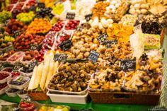 Barcelona Mercado de la Boqueria – Obst-/Gemüsemarkt – Ramblas