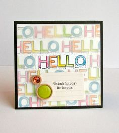 Jillibean Soup Bean Talk: Cards on Tuesday! - Stamps & Stencils - Nicole Nowosad
