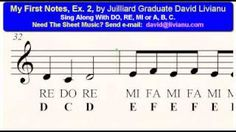 My First Notes Ex 2 Free Ear-Training & Sight-Singing Exercises For Young Musicians Middle School Choir, Sight Singing, Singing Exercises, Music Classroom, Music Education, Musicians, Sheet Music, Teacher, Notes