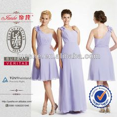 Lovely Made To Order One Shoulder Appliqued Bridesmaid Dress Patterns, View bridesmaid dress pattern, jueshe Product Details from Suzhou Jueshe Wedding & Evening Dress Factory on Alibaba.com