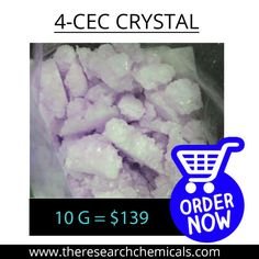 Available 10 Gram of 4-CEC Crystal online only at $139.00 - http://www.theresearchchemicals.com/new-products-5/4-cec-crystal.html