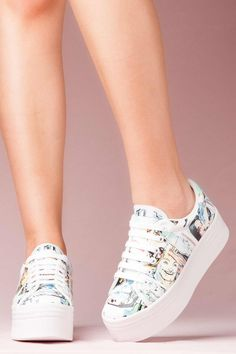 JEFFREY CAMPBELL SNEAKERS - ZOMG CARTOON