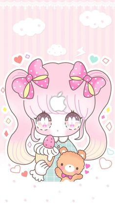 Top Wallpaper For Android Mobile top Anime Chibi, Kawaii Chibi, Cute Chibi, Kawaii Art, Kawaii Anime, Kawaii Stuff, Chibi Wallpaper, Kawaii Wallpaper, Wallpaper Iphone Cute