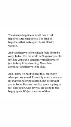 Self love quotes - behappy happiness joy enjoy letitgo moveon forget forgiveness mindfulness cheerful smile livefully enjoylife dontworry motivation quotes inspirational confidence selfcare selfhelp Motivacional Quotes, Mood Quotes, True Quotes, Positive Quotes, Self Love Quotes, Quotes To Live By, You Deserve Quotes, Quotes To Myself, Quotes About Finding Yourself
