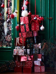 VINTER 2016 julpapper och dekorationer inspirerade av folklore.