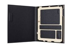 I really love this.  Attractive, functional.  You can store your ipad & your iphone in one case.