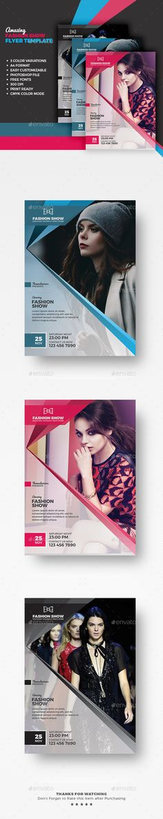 Ideas For Fashion Poster Template Event Flyers Id Card Design, Web Design, Game Design, Layout Design, Print Design, Flyer Design Inspiration, Brochure Design, Branding Design, Fashion Infographic