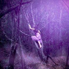 Purple. Fantasy Photography.
