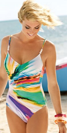 Charmline Summer 2013 Color Symphony Swimsuit - One Piece Swimsuits #Swimsuits #charmline #summer #2013 #summer #chic southbeachswimsuits.com
