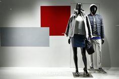 Armani enero 15 #retail #window #escaparate #vitrine #display #visual #visualmerchandising Pineado por Pilar Escolano