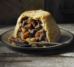 Beef, ale & parsnip pudding - A traditional steak and ale pie with suet pastry. Make the filling the night before then steam the - Bbc Good Food Recipes, Cooking Recipes, Yummy Food, Amazing Recipes, Game Recipes, Chef Recipes, Mary Berry, Bon Appetit, Quiche