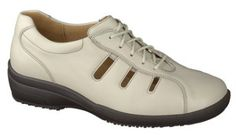 Ganter Sensitiv shoes style 207941. Width = K. I rarely wear white shoes - but with the contrasting black sole I could make an exception.