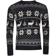 Star | Star Xmas FairIsle Knitwear Mens | Mens Knitwear Sports Direct, Fair Isle Knitting, Discount Codes, Christmas Sweaters, Knitwear, Xmas, Friends, Holiday, Shopping