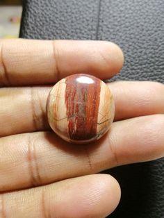 Natural Snakeskin Jasper Round, Smooth Round Cabochon, Gemstone- 24x24x6 MM Size Round Shape  Loose Gemstone-Jewellery Supply-Wholesalegems