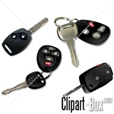 CLIPART IGNITION CAR KEYS