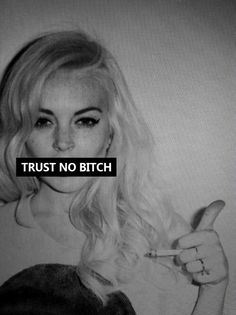 Image shared by ✝ Zombie ✝. Find images and videos about black and white, quote and bitch on We Heart It - the app to get lost in what you love. Lindsay Lohan, How To Pose, Bullshit, Swagg, Inspire Me, Make Me Smile, Wise Words, Quotes To Live By, Find Image