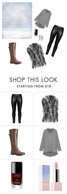 """winter"" by anela1510 on Polyvore featuring Studio, Wilsons Leather, Avenue, Chanel, Sephora Collection, women's clothing, women's fashion, women, female and woman"