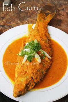 Indonesian Fish Curry - Resep gulai ikan padang batak medan