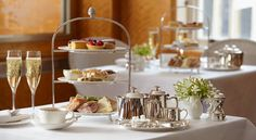 Afternoon tea at the Belmont Room
