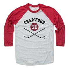 Corey Crawford Sticks K Chicago Officially Licensed NHLPA Baseball T-Shirt Unisex S-3XL