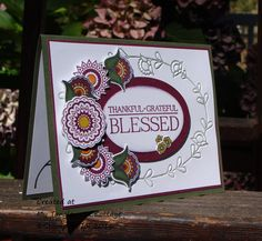 Blessed in Paisley by Stampin.Scrapper - Cards and Paper Crafts at Splitcoaststampers
