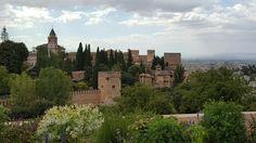 The Alhambra in Granada, Spain  ( Sept 2016)